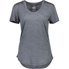 Mons Royale W's Estelle Relaxed T-Shirt Smoke